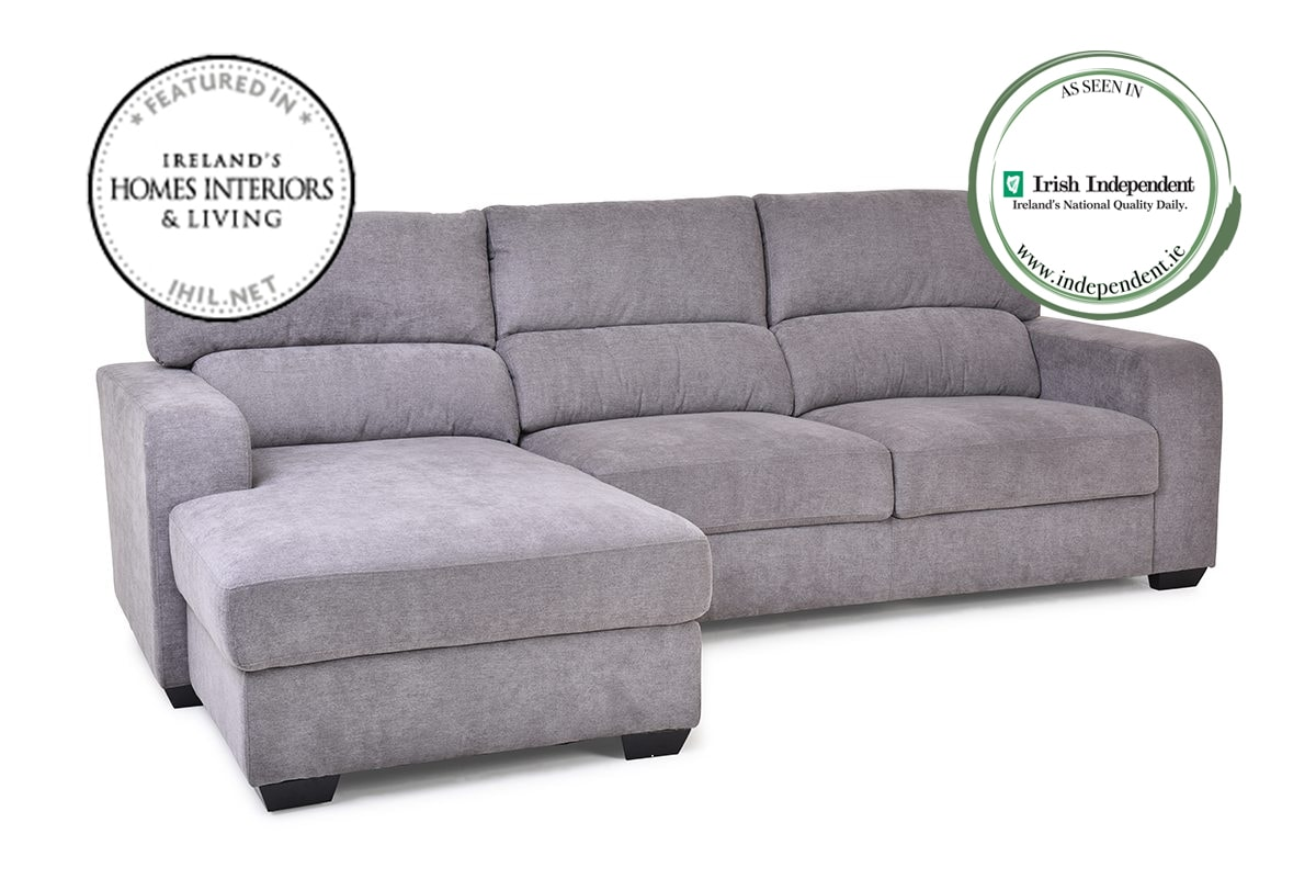 Sherbert Left Hand Facing 3 Seater Sofa With Chaise Furniture S Ireland