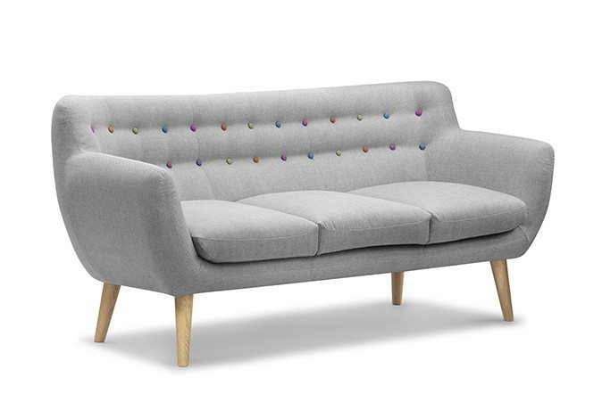 Fabulous Retro 3 Seater Sofa Home Interior And Landscaping Transignezvosmurscom