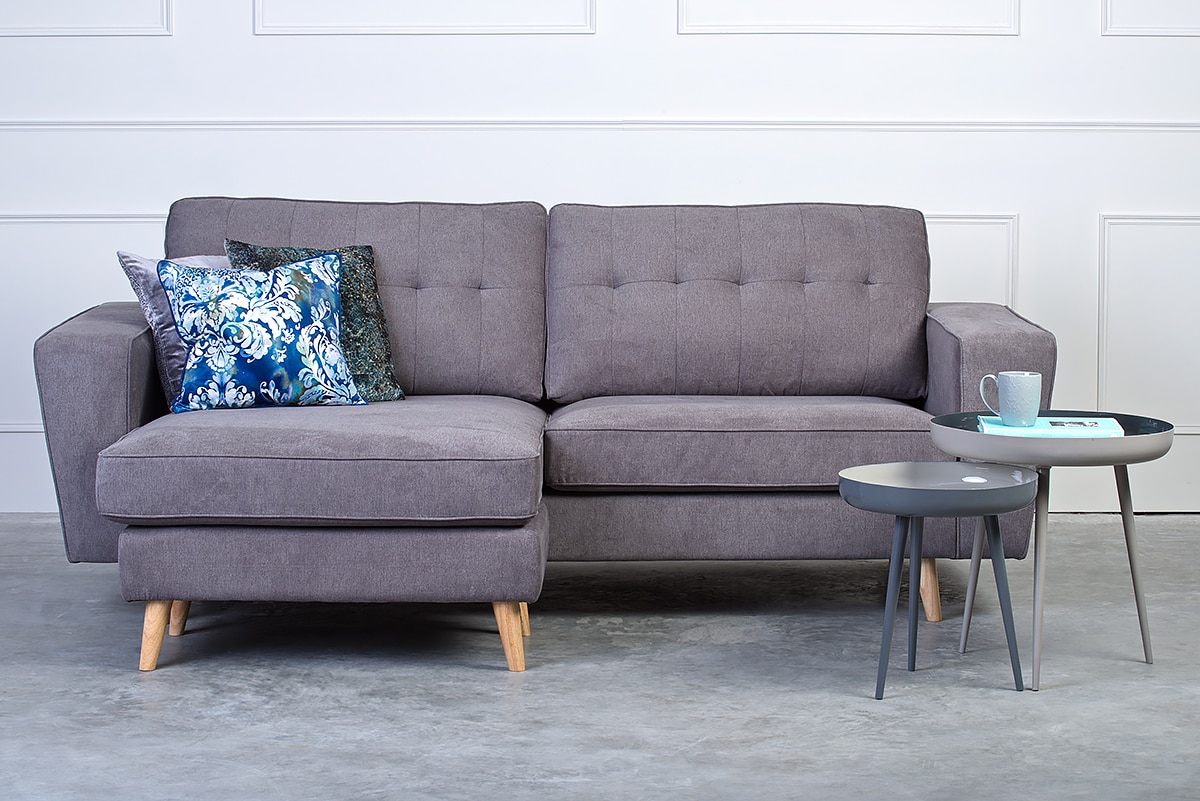 For Example The Romeo 2 Seater With Chaise Is A Compact Sofa That Maximises Seating E Thanks To Inclusion Of Small Lounger