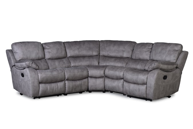 Jupiter Corner Unit Grey Sofa