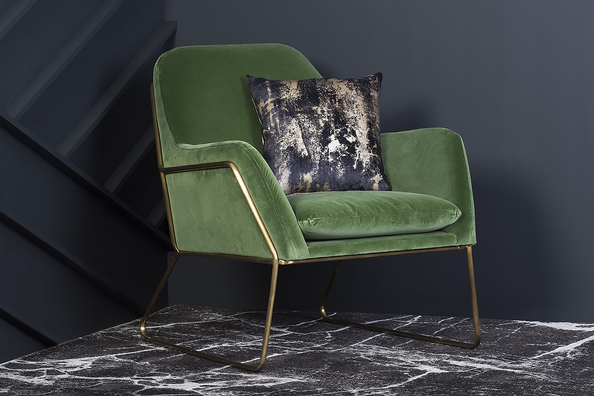 Colour Choice For Many Sofas And Accent Chairs On Display Something Similar The Gr Velvet Tones Of Frame Chair Has Got You Covered
