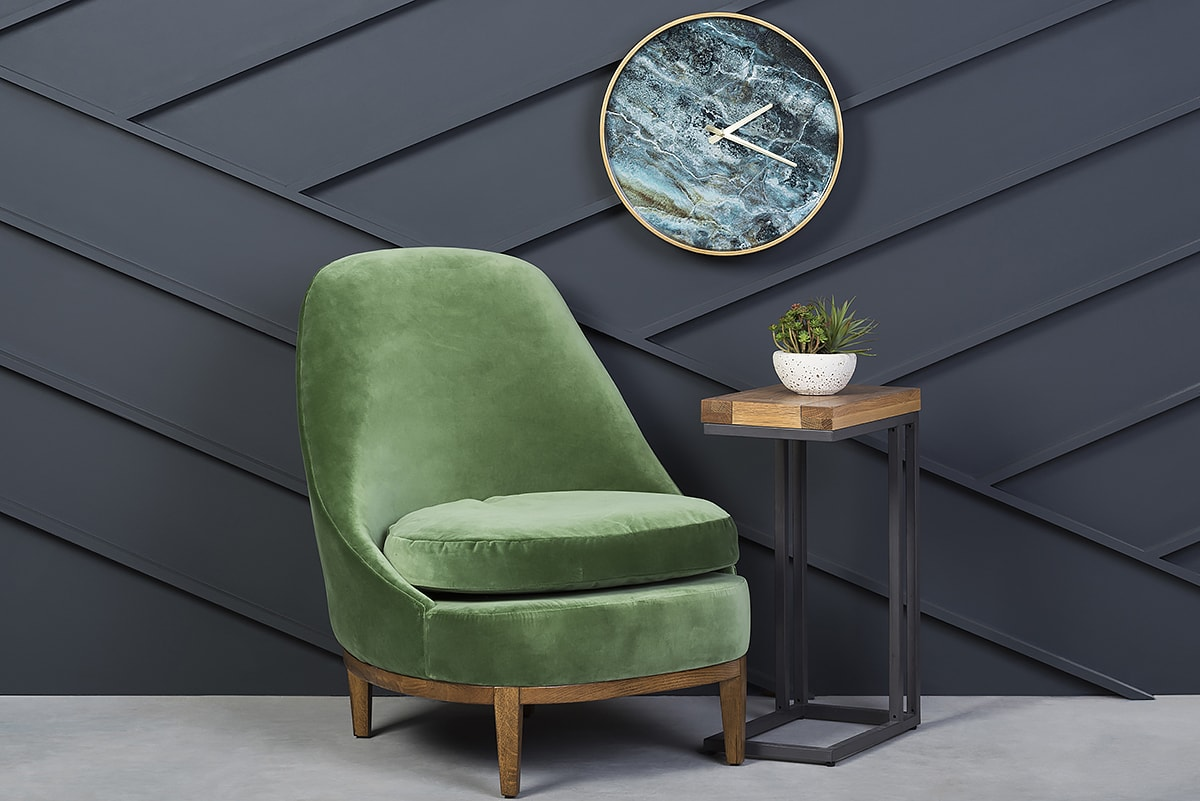The Tulip Accent Chair In Green Is A Wise Pick For St. Patrick Fans Who  Crave The Utmost Comfort, Providing You With A Super Soft Seating  Experience Youu0027ll ...
