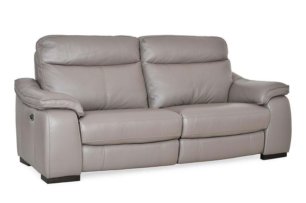 Carrington Leather Electric 3 Seater Sofa