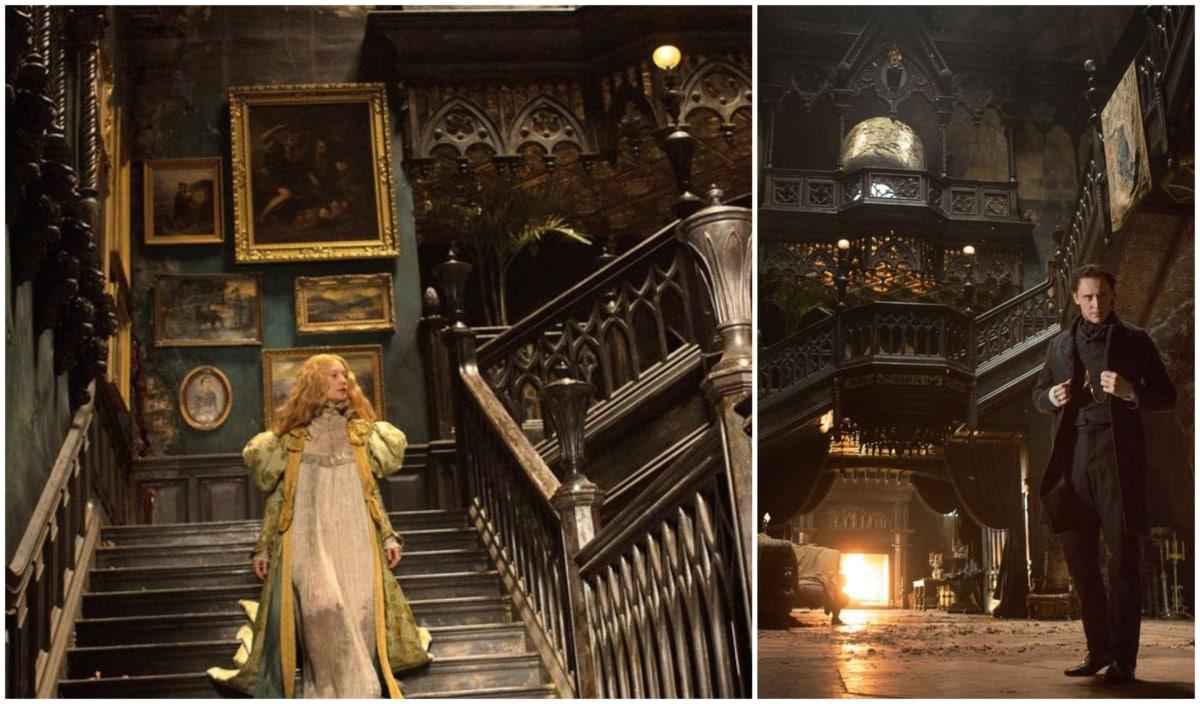 Gothic Interiors: The Set Design Of Crimson Peak   Furniture Stores Ireland