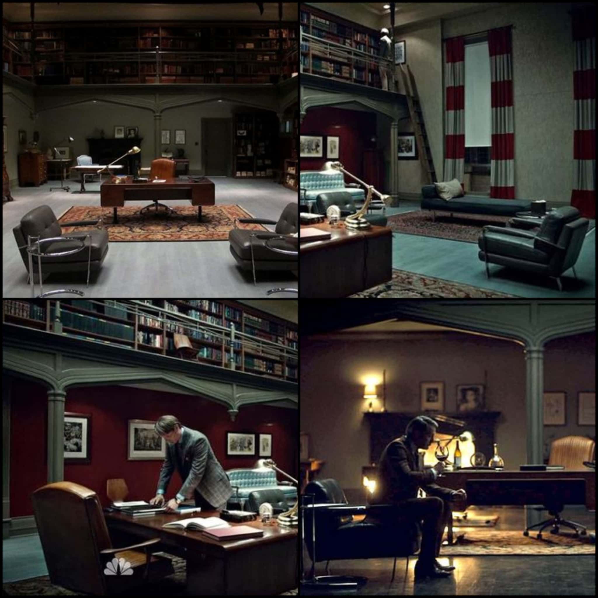 Psychopathic Style The Set Design Of Hannibal Michael