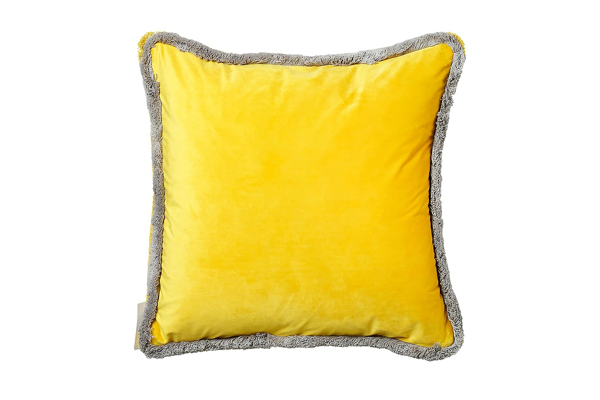 SB Milana Yellow Cushion 45cm 3CT11225A - Michael Murphy Home Furnishing 809e3a4a0b2e7