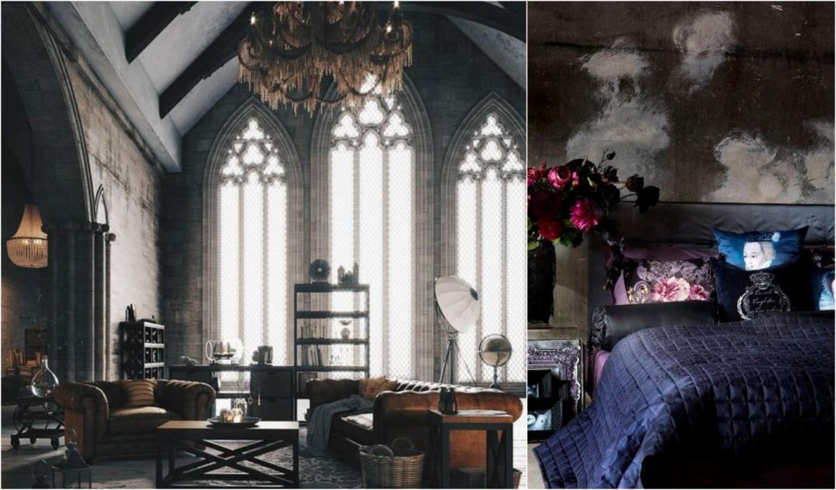 Monday Mood Board: Modern Gothic