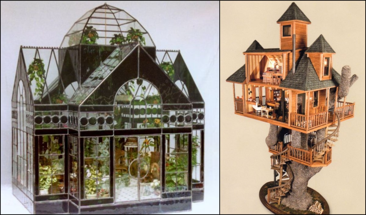 Sensational Miniature Houses Wed Happily Live In Michael Murphy Home Download Free Architecture Designs Scobabritishbridgeorg